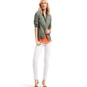 🍌Cabi Women Green Military Jacket Blazer Small